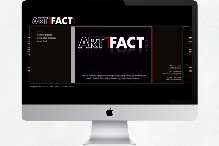 artifact films inc.